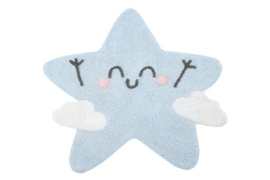 Lorena Canals Dywan bawełniany Happy Star, Mr Wonderful & Lorena Canals ? 120 cm