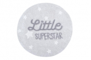 Lorena Canals Dywan bawełniany Little Superstar, Mr Wonderful & Lorena Canals ? 120 cm